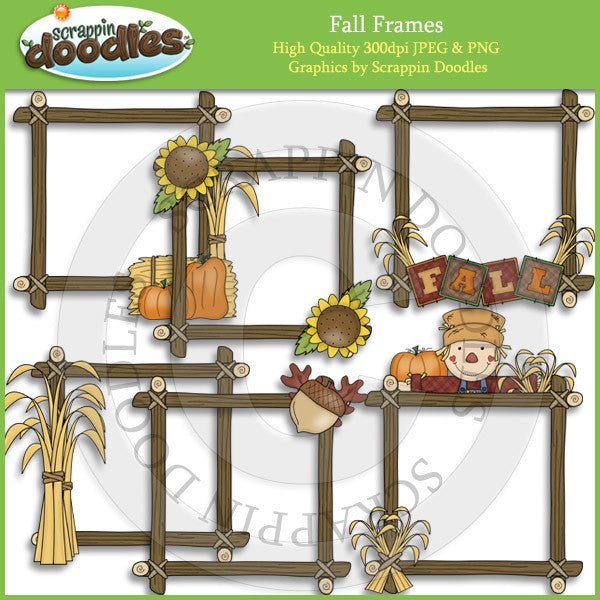 Fall Frames Clip Art Download