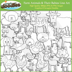 Farm Animals and Babies