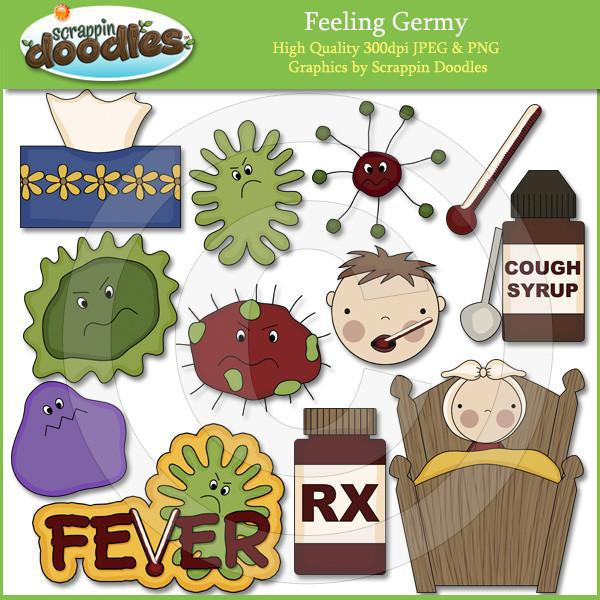 Feeling Germy Clip Art Download