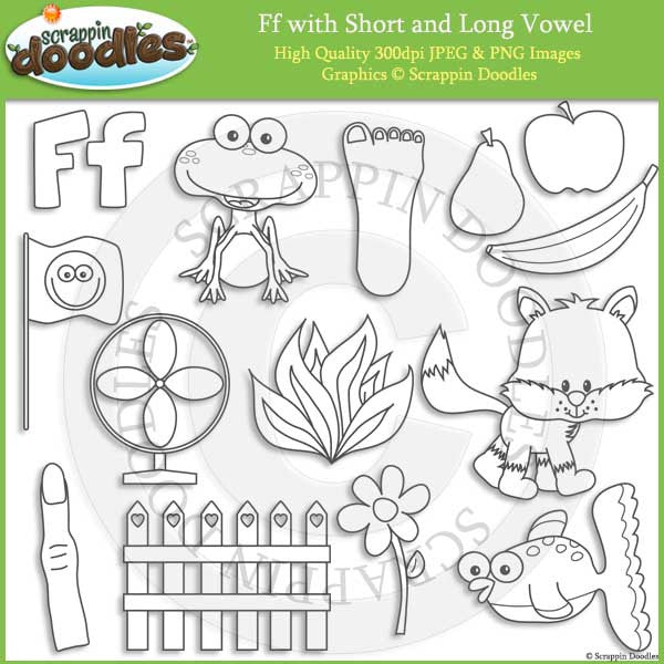F - Short and Long Vowel