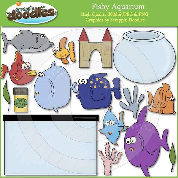 Fishy Aquarium Clip Art Download