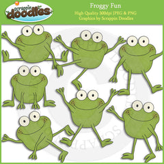 Froggy Fun Clip Art Download