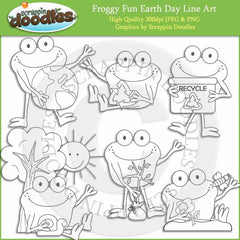 Froggy Fun Earth Day