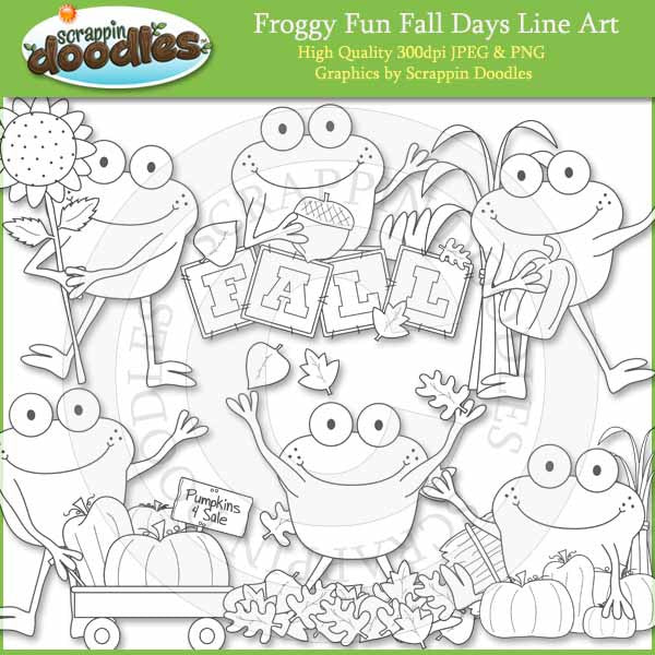 Froggy Fun Fall Days
