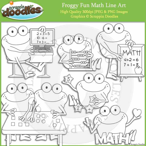 Froggy Fun Math