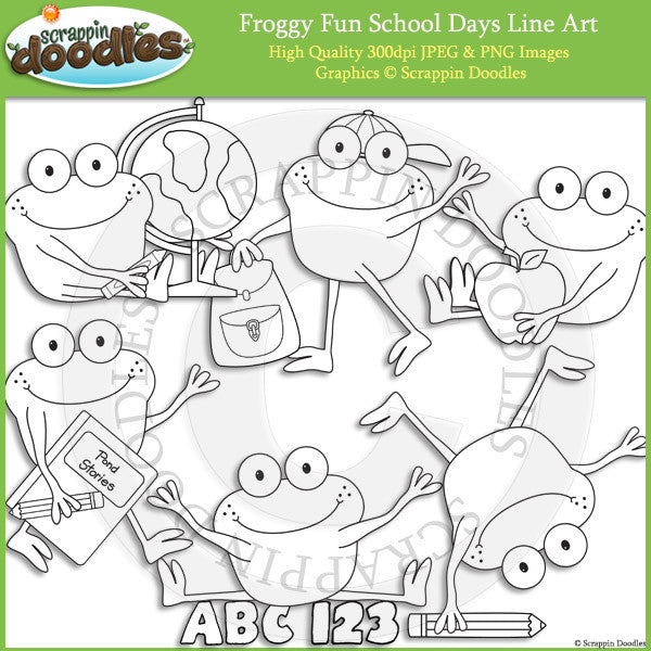 Froggy Fun School Days