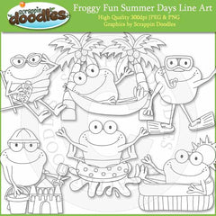 Froggy Fun Summer Days
