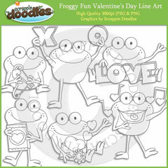 Froggy Fun Valentines Day