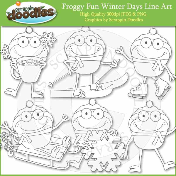 Froggy Fun Winter Days