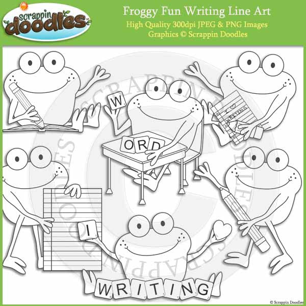 Froggy Fun Writing