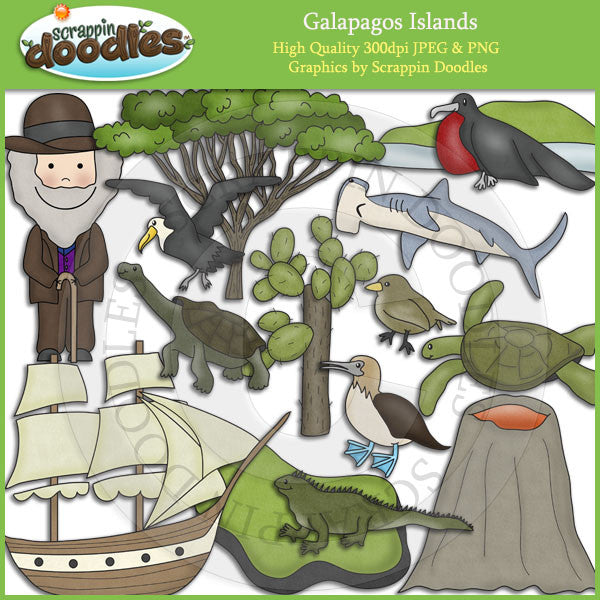 Galapagos Islands Clip Art Download