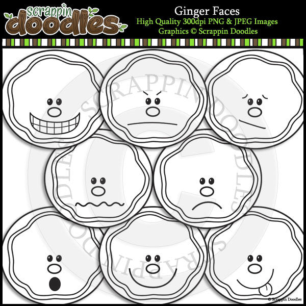 Gingerbread Faces