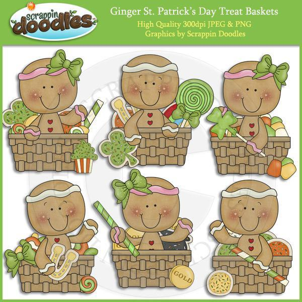 Ginger St Patricks Day Treat Baskets Download