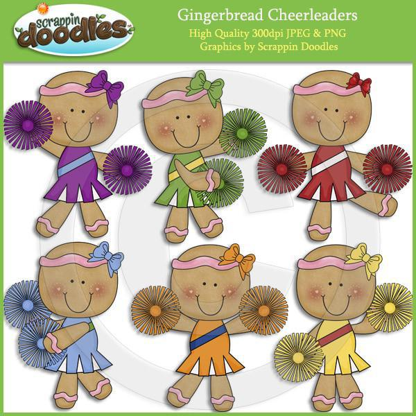 Ginger Cheer Clip Art Download