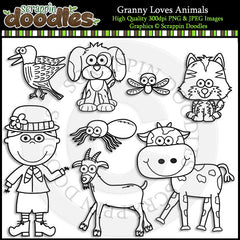 Granny Loves Animals