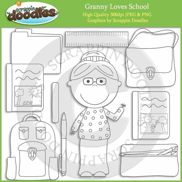 Granny Loves School