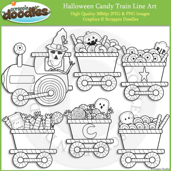 Halloween Candy Train