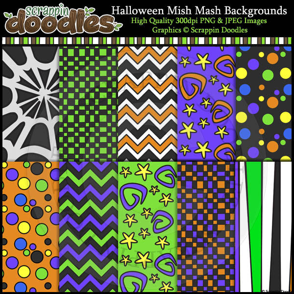 Halloween Mish Mash BUNDLE