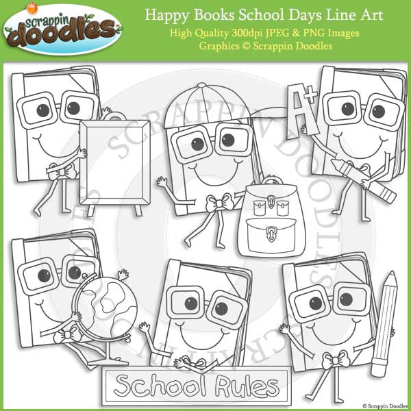 Happy Books School Days