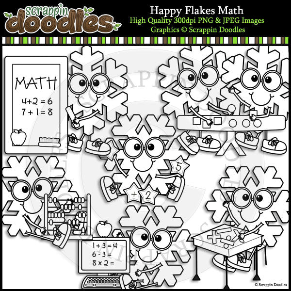 Happy Flakes Math