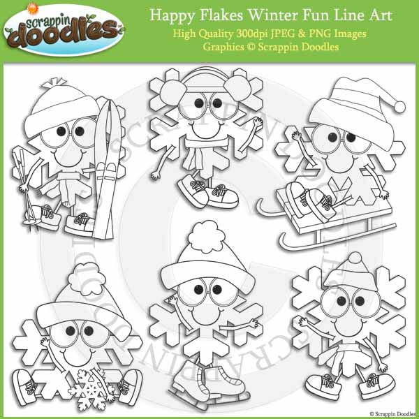 Happy Flakes Winter Fun