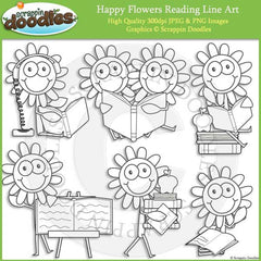 Happy Flowers Reading
