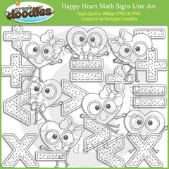 Happy Heart Math Signs