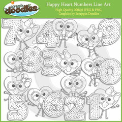 Happy Heart Numbers