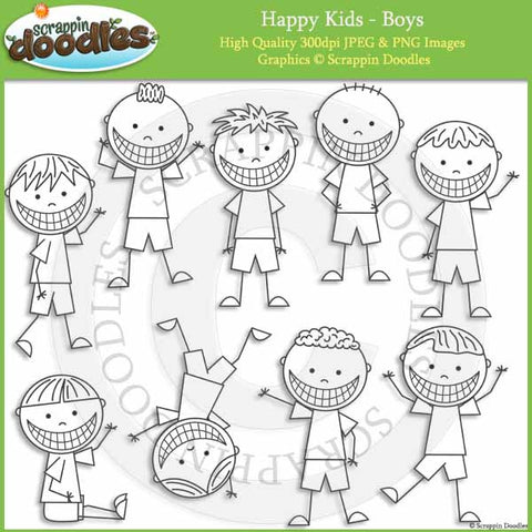 Happy Kids - Boys
