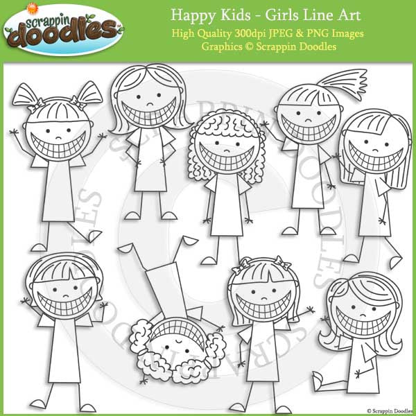 Happy Kids - Girls