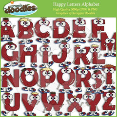 Happy Letters Alphabet A to Z Download