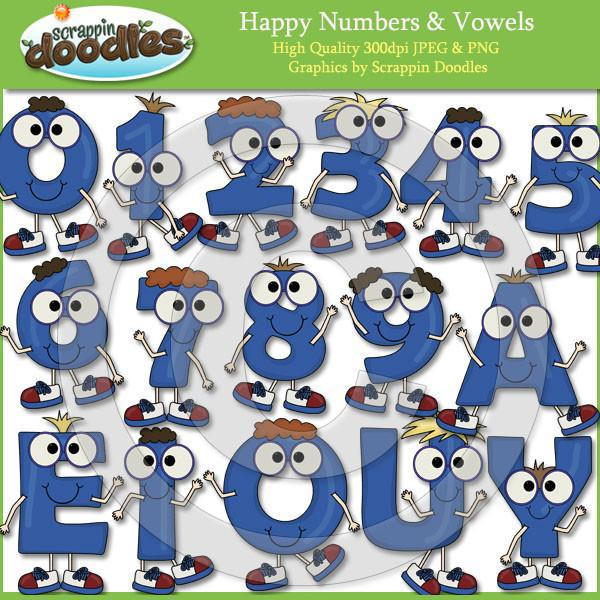 Happy Letters Alphabet A to Z