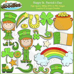 Happy St. Patrick's Day Clip Art