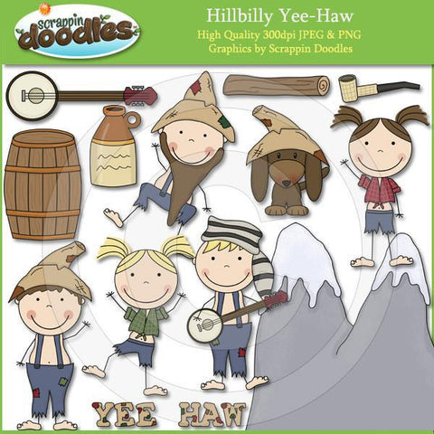 Hillbilly YeeHaw Clip Art Download