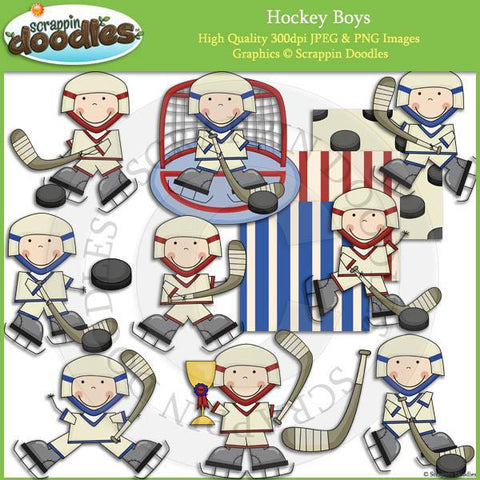 Hockey Boys Clip Art Download