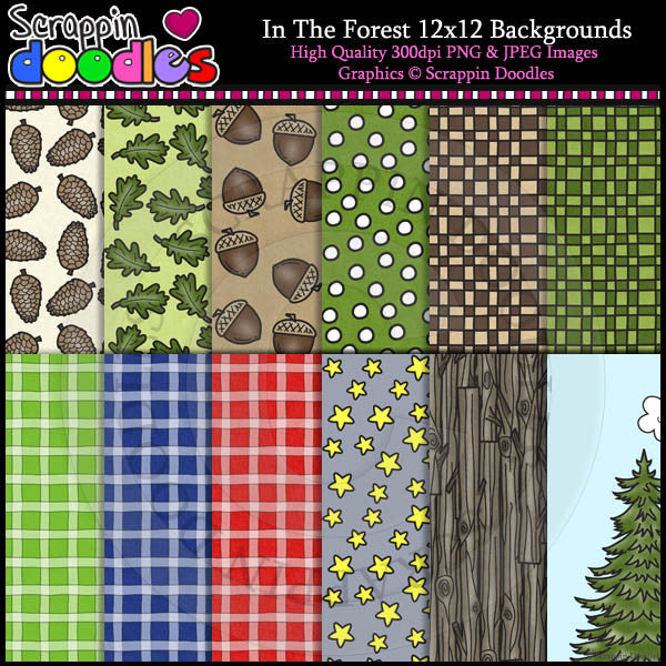 In The Forest 12x12 Backgrounds Download