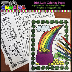 Irish Luck Coloring Pages