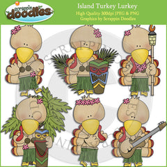 Island Turkey Lurkey Clip Art Download