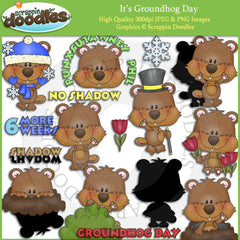 It's Groundhog Day Clip Art