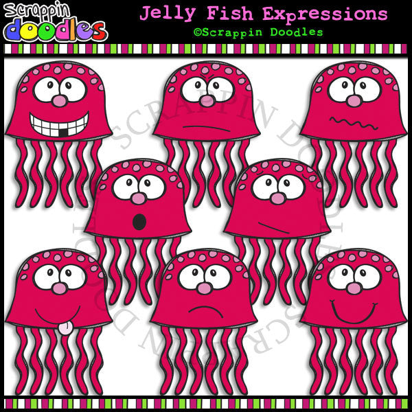 Jelly Fish Faces