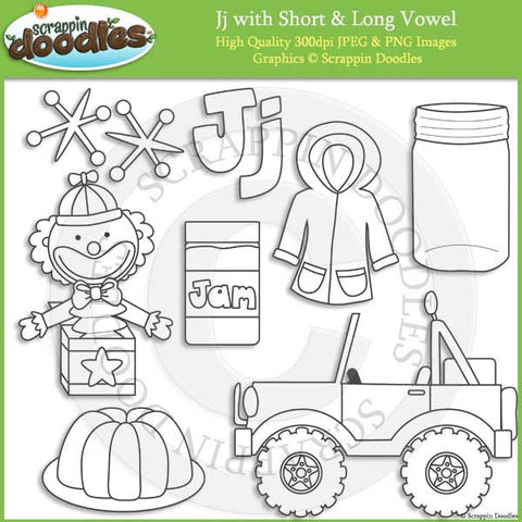 J - Short and Long Vowel