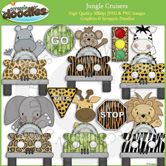 Jungle Cruisers Clip Art Download