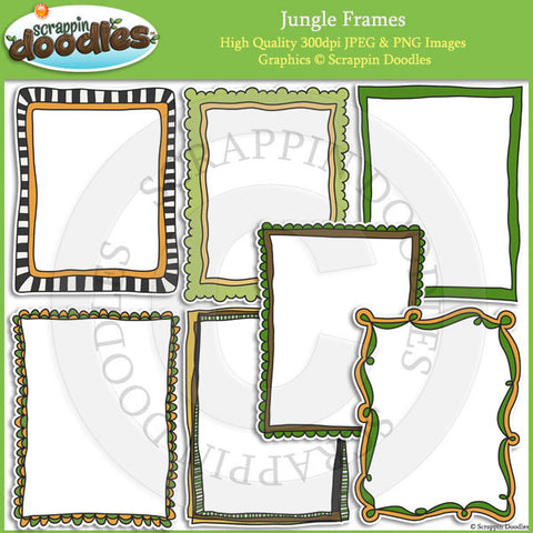 Jungle Ready Pages & Frames