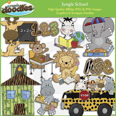 Jungle School Clip Art Download