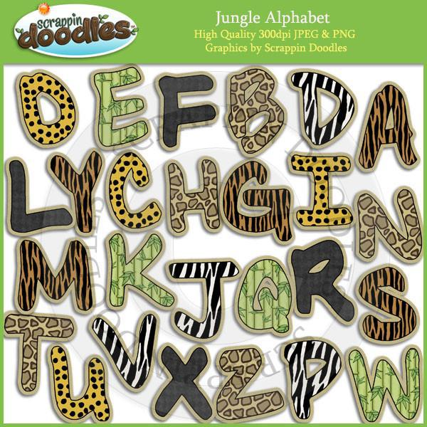 Jungle Alphabet Download
