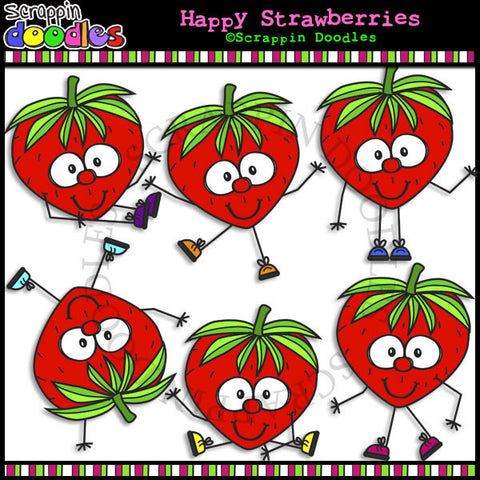 Happy Strawberries