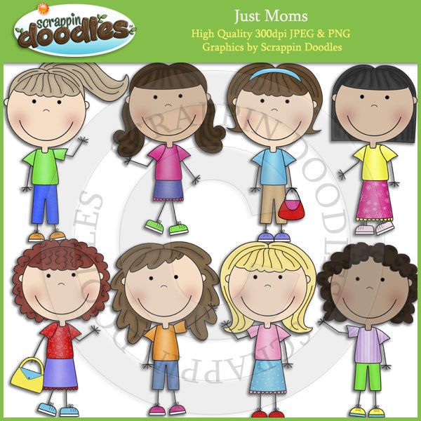 Just Moms Clip Art Download