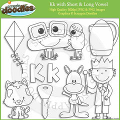 K- Short and Long Vowel