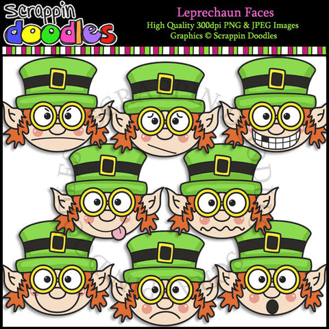 Leprechaun Faces