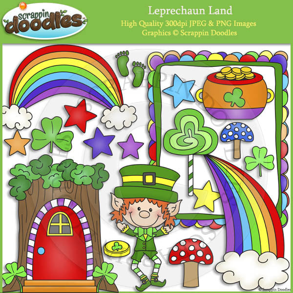 Leprechaun Land Clip Art